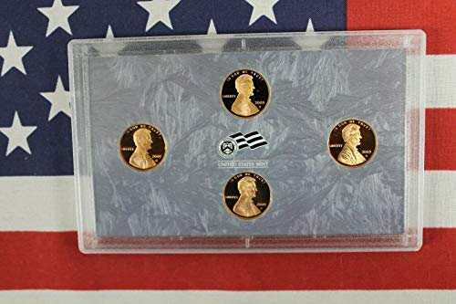 2009 S Lincoln Penny Bicentennial Proof Set - 4 coins - Original Composition - Cent GEM Proof No Box or COA US Mint