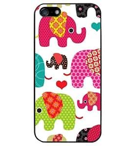 elephants - Funda Carcasa para Apple iPhone 5 / iPhone 5S