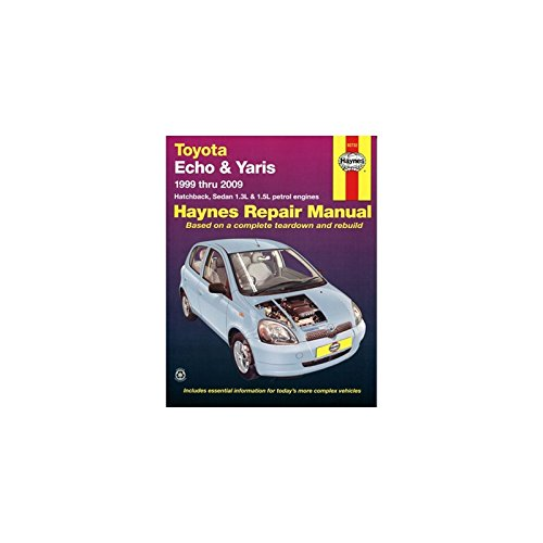 (Toyota Echo & Yaris Service and Repair Manual: 1999 to 2009 (Haynes Service and Repair Manuals))