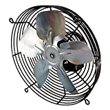 Exhaust Fan, 10 In, 115V, 615 CFM