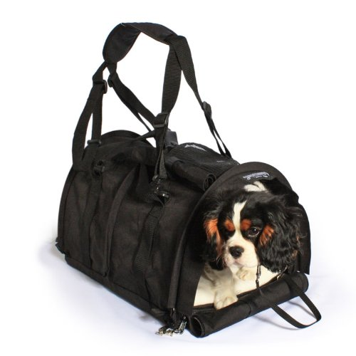 SturdiBag-Large-Pet-Carrier-with-Heavy-Mesh-Black-by-Sturdi-Products