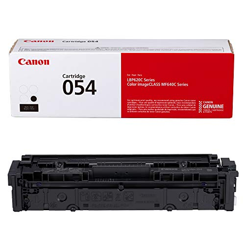 Canon Genuine Toner, Cartridge 054 Black (3024C001) 1 Pack, for Canon Color imageCLASS MF641Cdw, MF642Cdw, MF644Cdw, LBP622Cdw Laser Printers