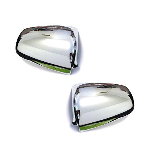 KMH-CSK04 Chrom Spiegelabdeckung Spiegelkappen passend f/ür A3 A4 A6 Hochwertige Qualit/ät Passform