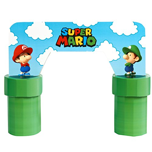 BirthdayExpress Super Mario Bros Babies Party Supplies