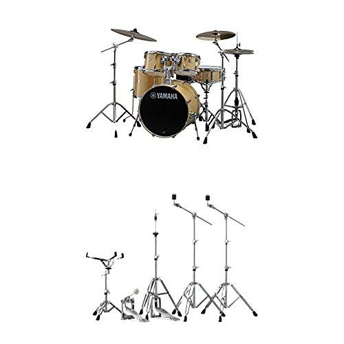 Yamaha Stage Custom Birch Standard Drum Kit with Hardware, Natural Wood