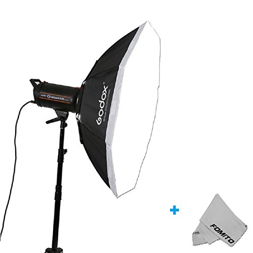 Fomito Godox Top Octagon Softbox 37Inch Octagon Softbox Photography Light Diffuser and Modifier with Bowens Speedring Mount For Monolight Photo Studio Strobe Lighting by Fomito