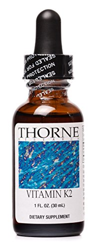 Thorne Research - Vitamin K2 Liquid (1 mg/drop) - Concentrated Vitamin K2 Supplement for Heart and Bone Support - 30 ml