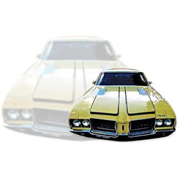 1968 Oldsmobile Cutlass 442 Stencil or Vinyl Racing Decals /& Stripes Kit