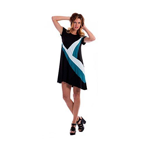 Zergatik Vestido Mujer DEER Blue