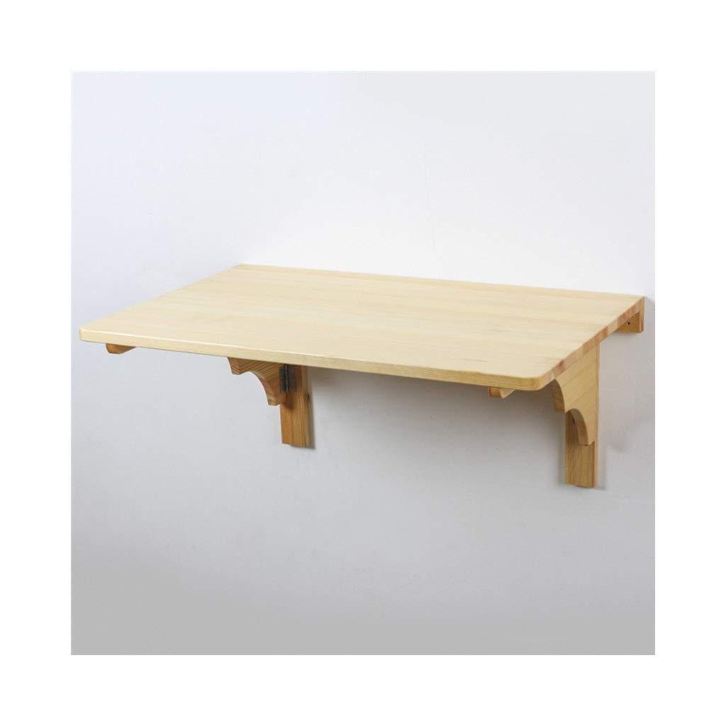 LQQFF Produktname  Klapptisch Material  Holz Holzmaterial  Kiefer Möbelstruktur  Stützstruktur OB Montage  Montage Zusätzliche Eigenschaften  hängend Dimensione  40 cm 60  80  50 cm, 50 cm  100 S