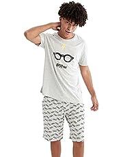 Harry Potter Lisanslı Baskılı Regular Fit Pijama Takımı