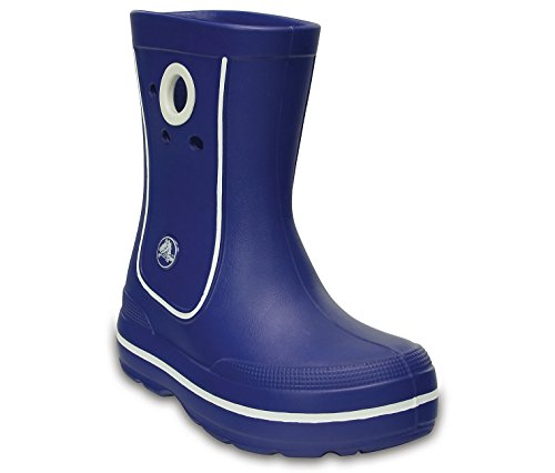 Crocs Baby Crocband Jaunt Kids Rain Boot, Cerulean Blue, 6 M US Toddler