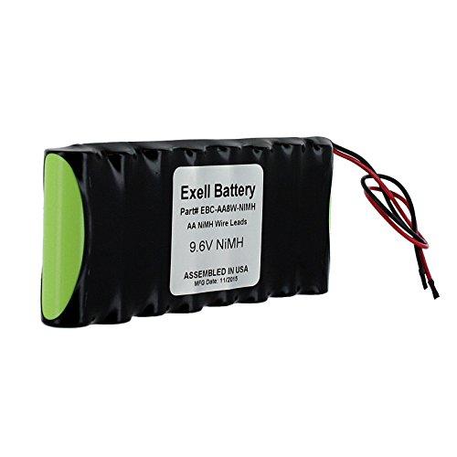 9.6V Custom NiMH 2100mAh Battery Pk 6