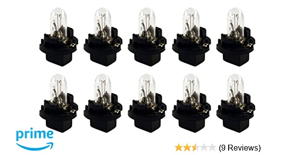 CEC Industries PC74 Bulbs, 14 V, 1.4 W, Printed Circuit Base, T-1.75 shape (Box of 10) - - Amazon.com