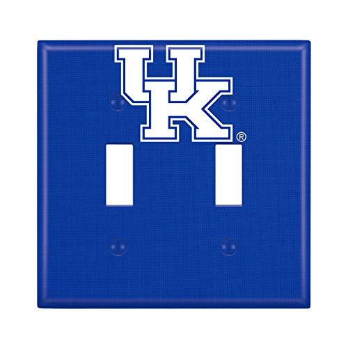 (Keyscaper NCAA Kentucky Wildcats Unisex Lightswitch PlateLightswitch Plate, White, One Size)