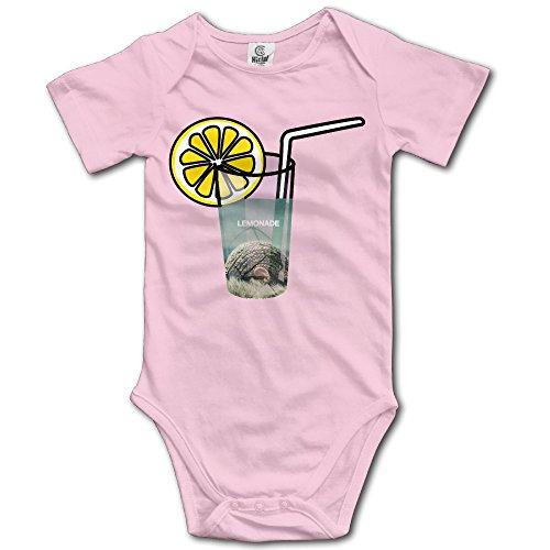 [Summer Lemonade Boy & Girl Infants Climb Romper 12 Months Pink] (Toddler Girl Racer Costume)