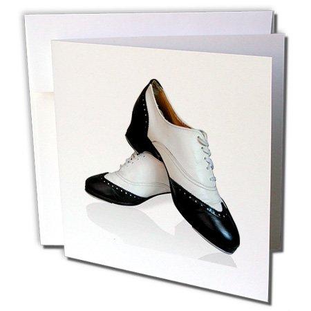 3dRose–Zapatos de claqué–Tarjetas de felicitación, 6x 6inches, juego de 6(gc 1276_ 1)