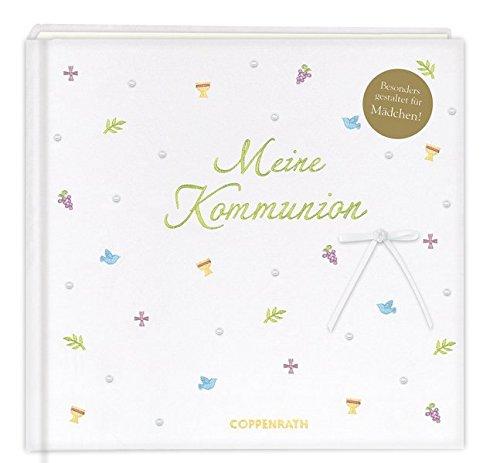 Meine Kommunion Festlich Weiß Eintragalbum Amazonde