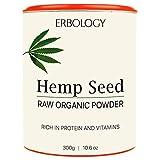 Organic Hemp Protein Powder 10.6 oz – Rich in Vitamin D and Minerals – Raw – Gluten-Free