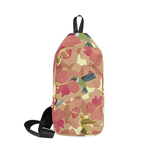 spalla e uomini Dragonswordlinsu Sling per Hummingbirds Bag Coosun a donne Zaino xP6Sax7