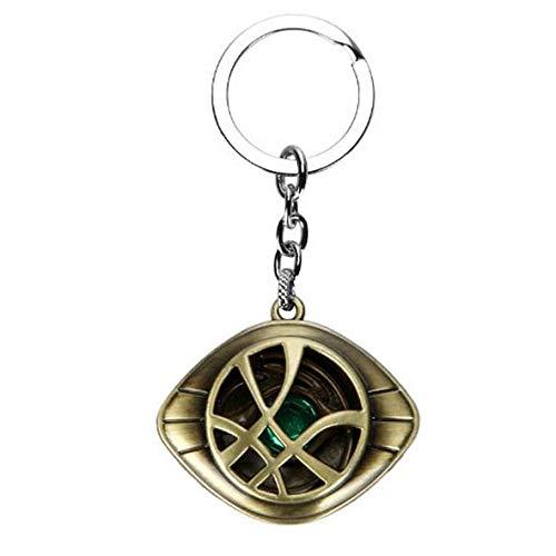 (Doctor Strange Dr. Steven Strange Eye of Agomoto Keychain - Eye Keychain (Bronze))