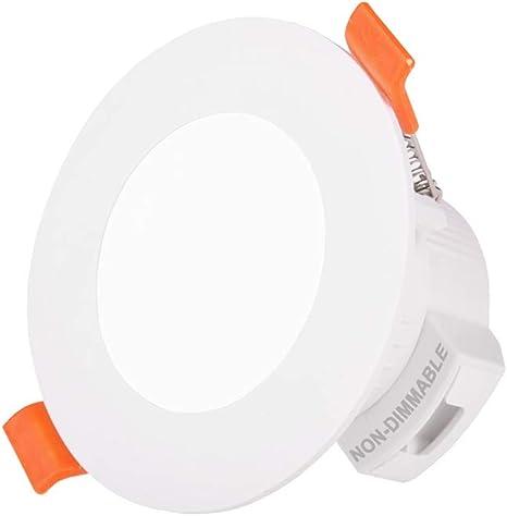 LED Einbaustrahler 5W//9W RGBW Dimmbar Strahler Deckenspot Flach flat Bad Küche