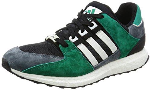 Adidas Originals Equipment Support 93/16, core black-ftwr white-sub green Grau