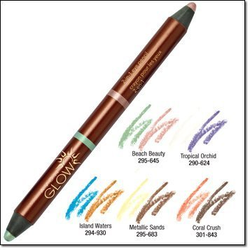 Avon Glow 2 in 1 Eye Pencil Metallic Sands
