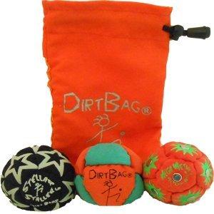 Dirtbag All Star 3 Pack - Orange/Green w/Orange Pouch
