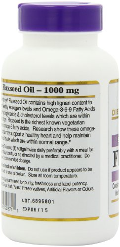 21st Century Flaxseed Oil 1000 mg Softgels, 120 Count by 21st Century (Image #7)