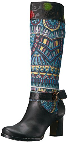 L'Artiste by Spring Step Womens Natalia Boot Black