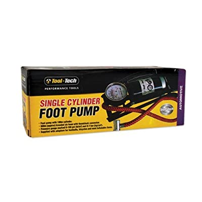 Tool Tech Single Cylinder Foot Pump by Tool Tech