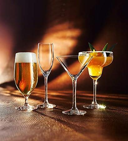 6 copas de champán 16 cl-Cabernet-& Chef Sommelier