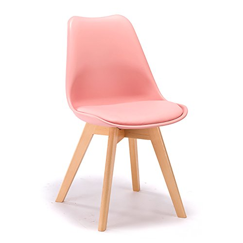 Amazoncom Kxbymx Solid Wood Lounge Chair Stool Dining Chair