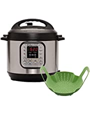 Instant Pot Duo 6 Quart Multicooker with Silicone Steamer Basket