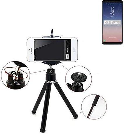 K-S-Trade® Smartphone Trípode/Soporte Móvil/Trípode como para Samsung Galaxy A8 Star. Trípode De Aluminio/Trípode con Soporte para El Teléfono Móvil, Universal para Todos Los Teléfonos: Amazon.es: Electrónica