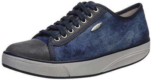 MBT Women's Jambo (LE) Athletic Walking Shoe (38, Denim Blue/Stone Washed Navy)