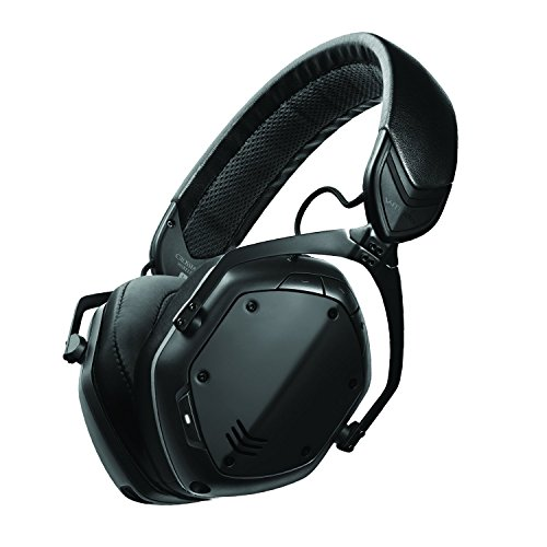 V-MODA Crossfade 2 Wireless Over-Ear Headphone - Matte Black (Hat Hi Mic)