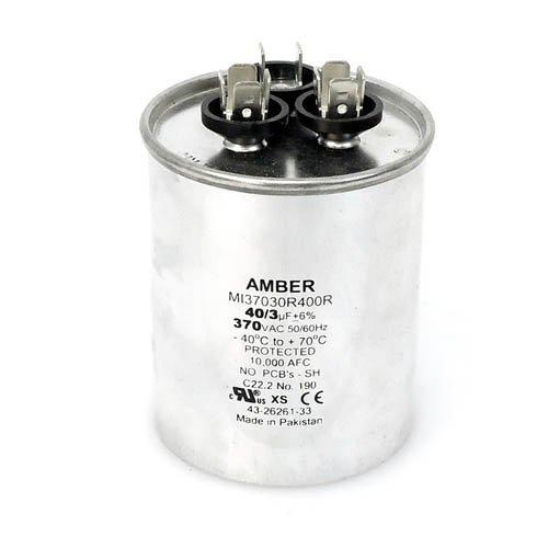 43-26261-33 3 UF//MFD 370 Volt Rheem OEM Round Replacement Dual Run Capacitor 40
