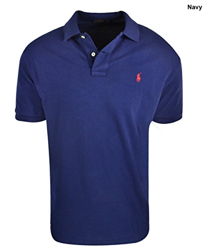 New Polo Ralph Lauren- Classic Fit Mesh Polo Navy Size Medium