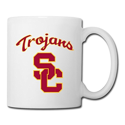 Novelty-coffee-mugs USC Trojans College Cups White by MeiXue The Mug (Image #1)