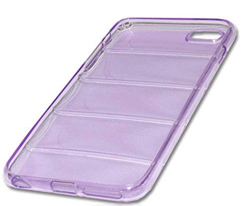 Silikon Case Handy Tasche Hülle für Apple iPhone 6 Plus / Schutzhülle Handytasche barell lila