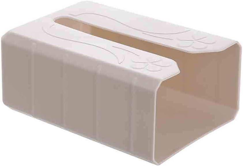 Multifunzione Il Bagno Beige Porta fazzoletti da Parete FiedFikt per la casa