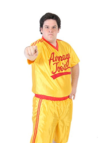 (Plus Size Dodgeball Jersey Costume -)