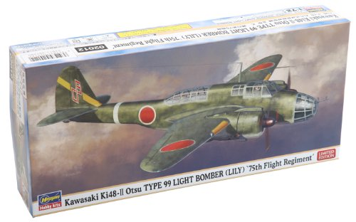 75th Squadron flying a twin-engine light bomber B type 2 expression ninety-nine Kawasaki Ki 48 1/72 [Japan Import]