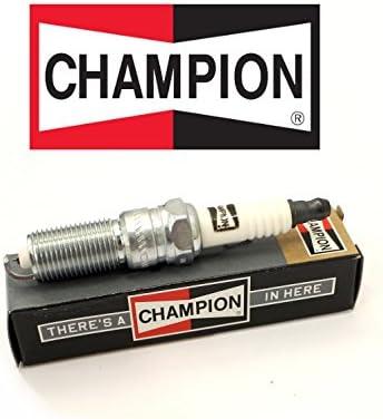 4er Set Double Platinum Power Zündkerzen 5 7l 6 1l Champion 7570 Rc12pyp Re14pmpb Auto