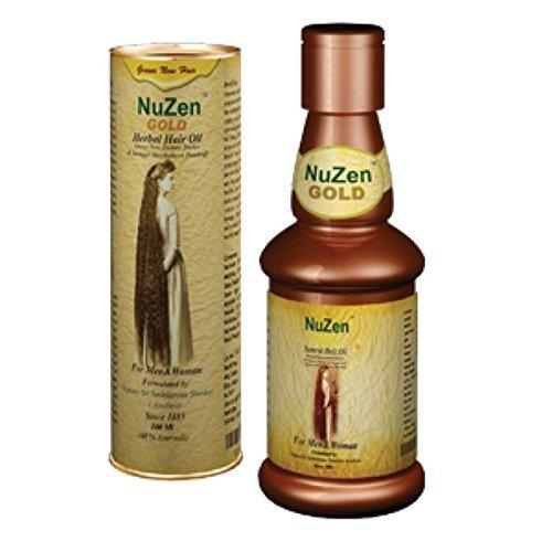 Nuzen Gold Herbal Hair Oil - 100ml by Nuzen
