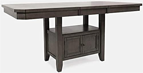Jofran Manchester Adjustable Height Extension Storage Dining Table