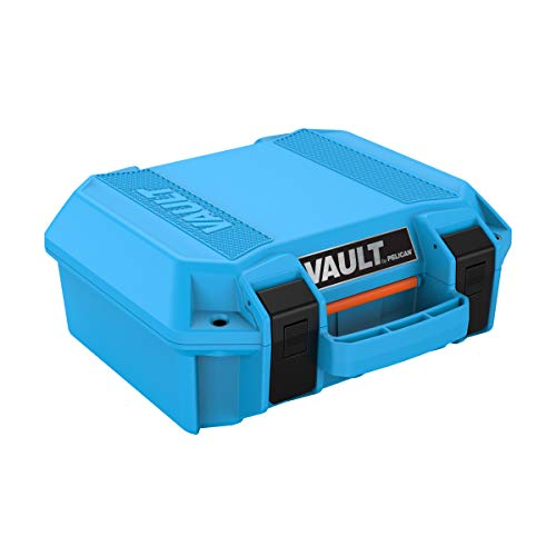 Pelican Vault V100 Small Case with Foam (Marine Blue)