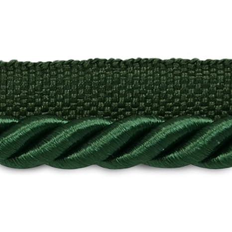 Expo International Hilda Twisted Lip Cord Trim, 20 yd/3/8, Teal IR2548TL-20